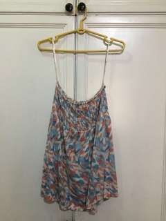 Forever 21 Multi-Colored Tube Top