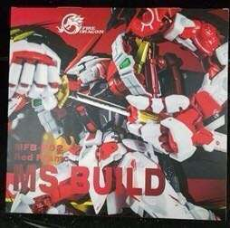 [PO] Astray Red Frame Gundam Powered Red & 150 Gerbera Straight [Power] Option Set Metal Build (ETA End-April]