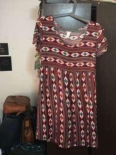 F21 Aztec Summer Dress