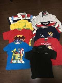 4T T-shirt / Polo T-shirts / long sleeve shirts for kids, preschoolers, children