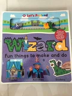 Wizard activity book