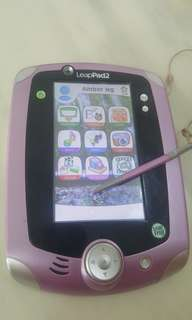 Leap pad 2 for sale ( come with 10 cartridges)