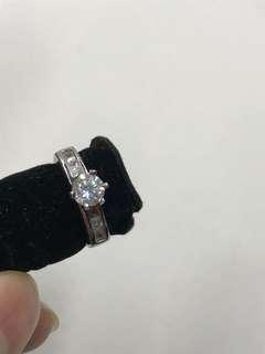 鑽石戒指 蘇聯石 小號 全新