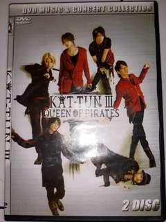 """DVD Konser KAT-TUN """"Queen Of Pirates"""" 2Disc"""