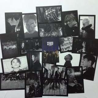 🚚 BIGBANG10周年 A TO Z 展覽明信片