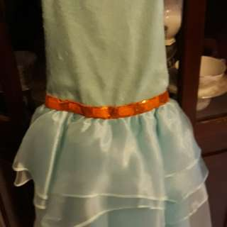 Sequined Halter Girls Dress in mint green