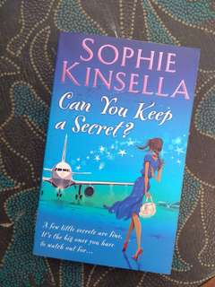 PRELOVED BOOK - CAN YOU KEEP A SECRET - SOPHIE KINSELLA