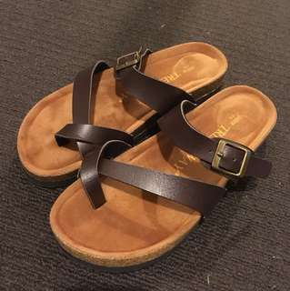 Boutique sandals fit size 8