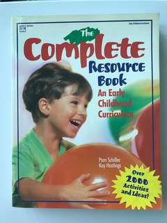 The Complete Resource Book. An Early Childhood Curriculum