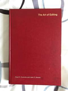 The Art of Editing by Floyd K Baskette & Jack Z Sissors