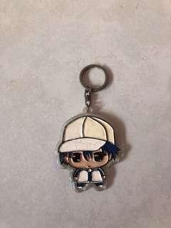 Prince of tennis keychain