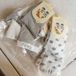5 Pair Socks (Grey)