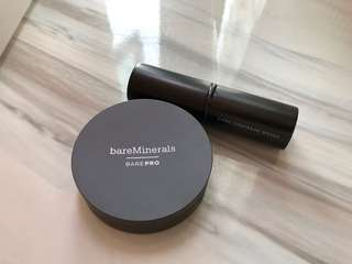 BareMinerals barePRO powder foundation + Core Coverage Brush