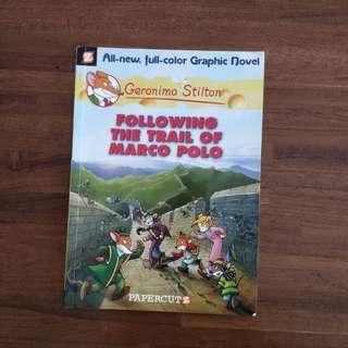 Geronimo Stilton : following the trail of marco polo