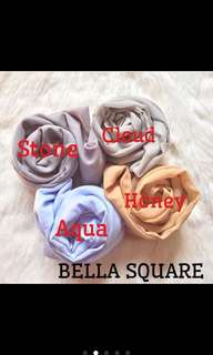 Hijab segiempat polly cotton