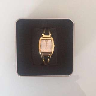 Vintage style Elite Gold watch