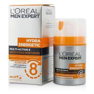 L'oreal Men Expert Multiaction 8 Anti Fatigue Moisturizer