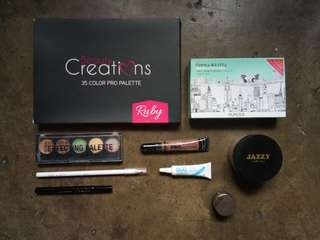 Authentic Makeup Bundle Preloved and Brand New