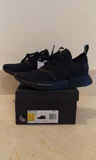 Adidas NMD R1 Primeknit Japan Triple Black