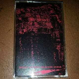 Music Cassette Tape (Metal): Black Citadel/Funeral Altar–Black Citadel / Funeral Altar