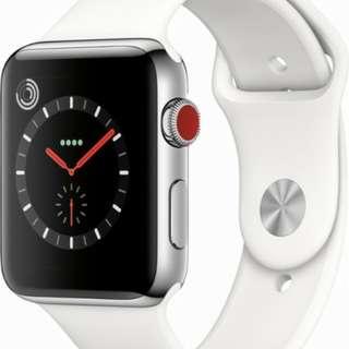 Kredit Tanpa CC Apple Watch Series 3 White proses nya gak lama cukup 3 menit aja kok