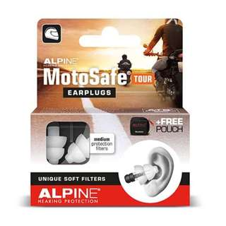 ALPINE MOTOSAFE TOUR Ear Plugs for Motorcyclists