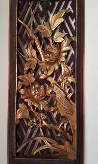 Vintage Chinese Wood Carving