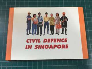 Civil Defence in Singapore $5 Coin 1991