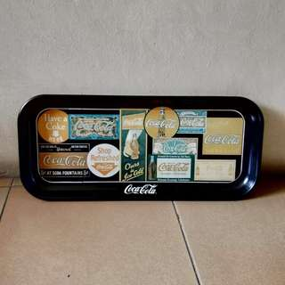 Coca-Cola vintage metal tray - USA made