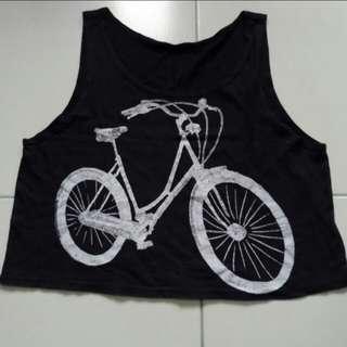 Bike Crop Top