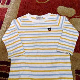 MikiHouse Stripes Shirt (1-2t)