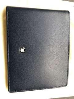 Blue Montblanc Meisterstück wallet (brand new)