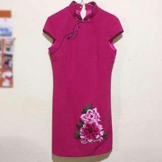 BNWT Pink Cheongsam
