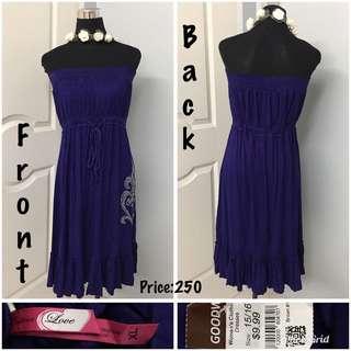 Plus size tube dress