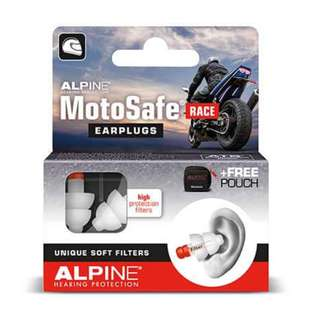 ALPINE MOTOSAFE RACE Ear Plugs for Motorcyclists