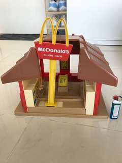 McDonald x playskool 大屋