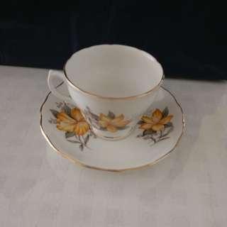 英国瓷茶杯一套