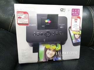 Canon Selphy CP910 相片打印機 黑色