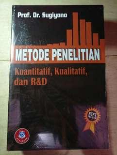 Metode Penelitian: Metode Penelitian Kuantitatif Kualitatif - Sugiyono