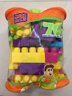 Mega Bloks 70pcs