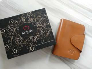 Meisslie leather card case