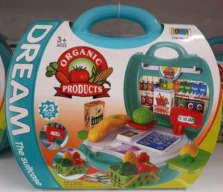 Dream Suitcase - Supermarket playset