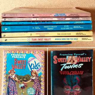 Sweet Valley Pocketbooks