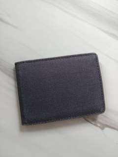 Authentic Muji card holder