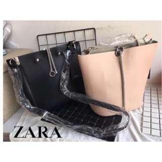 ZARA Join Life Bucket Chain Detail