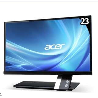 acer S235HL 23吋螢幕