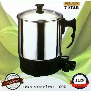 Teko pemanas air kettle Mug 7star