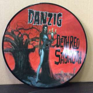 Danzig Deth Red Sabaoth vinyl record LP picture disc