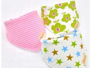 Bandana Bibs Girls(3pcs)