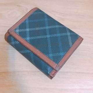 🚚 《出清》Arnold Palmer雨傘-摩洛哥紋皮夾 兩折短夾